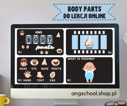 Body Parts PREZENTACJA do lekcji online