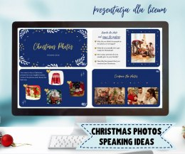 CHRISTMAS PHOTOS - Speaking Ideas - prezentacja dla liceum