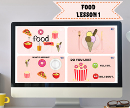 FOOD LESSON 1- Do you like...? - do lekcji online