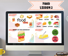 FOOD LESSON 2 - Sandwiches - do lekcji online
