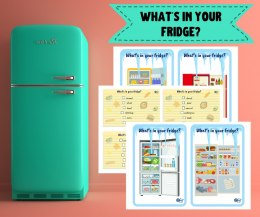 "Karty do gry ""What's in your fridge?"" wersja angielska"