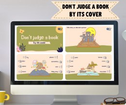 Don't judge a book by its cover - prezentacja interaktywna do lekcji online