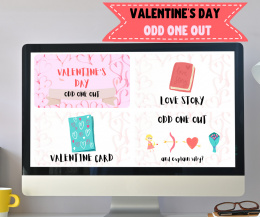VALENTINE'S DAY ODD ONE OUT - prezentacja online