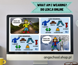 What am I wearing? PREZENTACJA do lekcji online