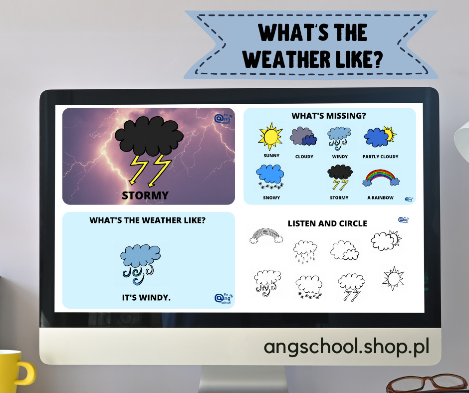 What's the weather like? PREZENTACJA do lekcji online