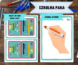 Szkolna Paka: School Actions + What's in your Pencil Case?